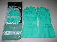 Găng tay cao su chống hóa chất Ansell 37 -175